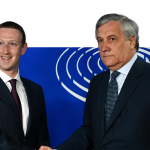 Mark Zuckerberg questioned at the European Union headquarters in Brussels. about the data privacy scandal.