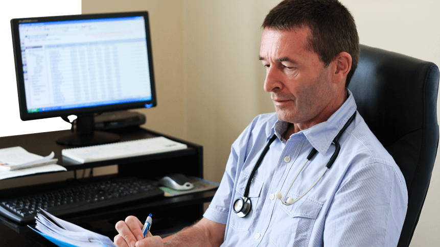 Are healthcare professionals spending too much time on paperwork?