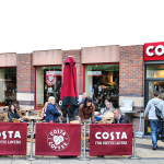Coca-cola just bought Costa Coffee.