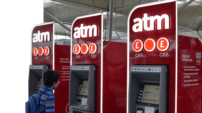 When was the last time you withdrew cash from an ATM?
