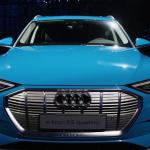 An Audi e-tron EV