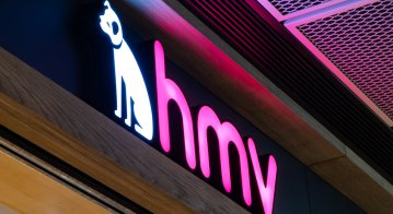 HMV store in Hong Kong