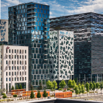Office buildings in Oslo, Norway