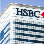 HSBC Canada Square, Canary Wharf. Global headquarters of the one the world's largest banking and financial services organisations
