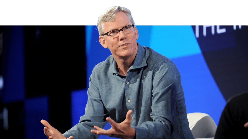 HubSpot Co-founder and CEO Brian Halligan speaks onstage at the ONWARD17