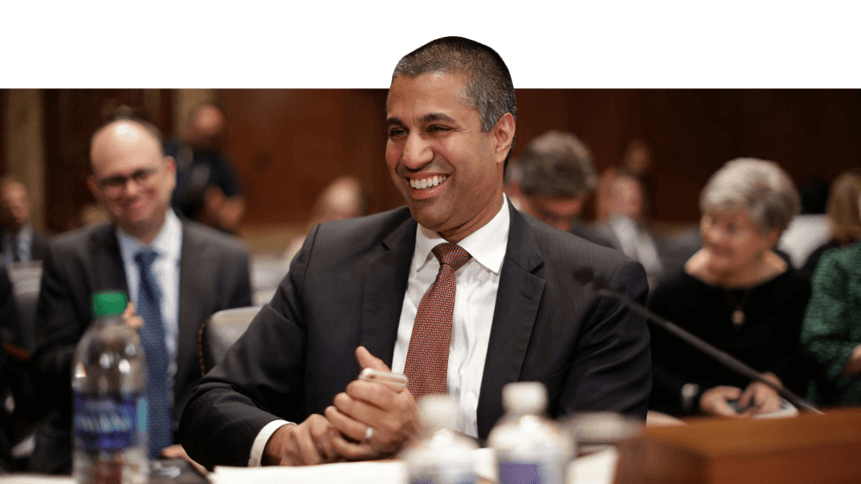 FCC Chairman Ajit Pai, an opponent of Net Neutrality