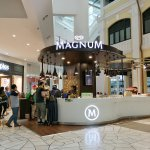 Magnum demonstrates pop up retail