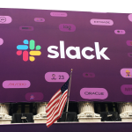 Workplace collaboration and messaging tool Slack went public this year.