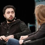 DeepMind co-founder Mustafa Suleyman at TechCrunch Disrupt London, 2016