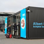 An Albert Heijn autonomous store at Amsterdam's Schiphol Airport.