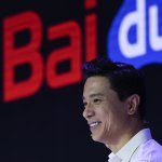 Baidu co-founder and CEO Robin Li attends Baidu Create 2019 in Beijing