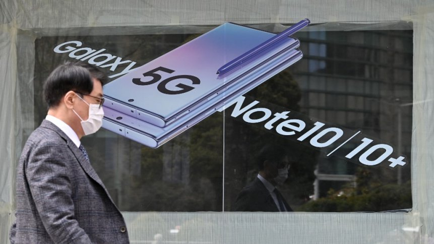 The need for 5G unveils as millions work from home. Source: AFP