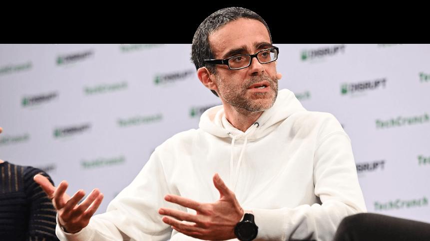 CTO of Nexar Bruno Fernandez-Ruiz speaks on stage at TechCrunch Disrupt Berlin