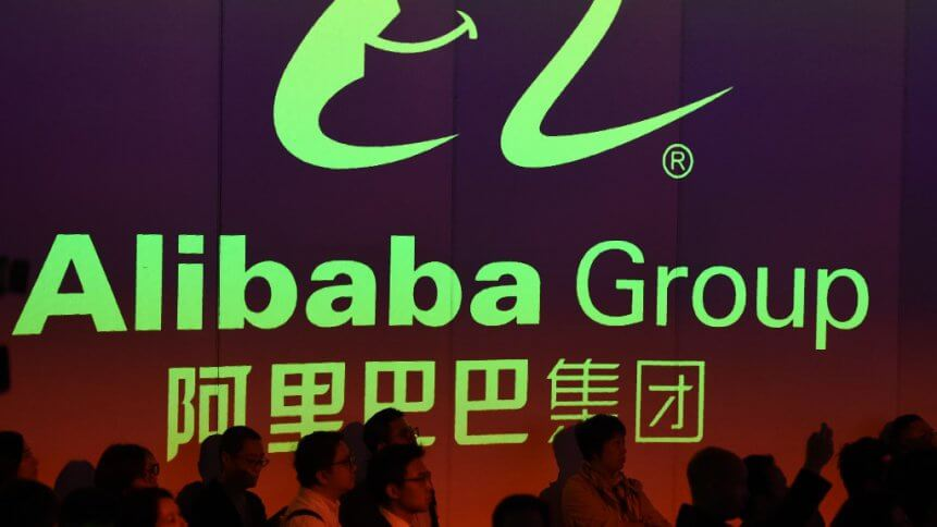 Alibaba is setting new standards for e-commerce. Source: AFP