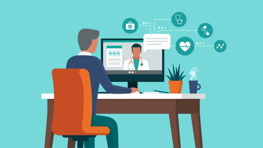Telehealth services are increasingly on demand. Source: Shutterstock