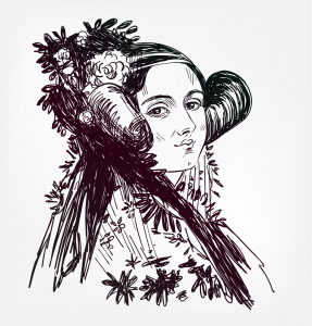 Ada Lovelace, known for her work on Charles Babbage's proposed mechanical general-purpose computer, the Analytical Engine