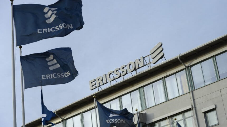 The Ericsson flag is flying higher these days as international 5G rollouts help to pad its Q1 2021 profits