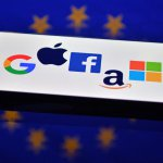 Powerhouses Facebook, Apple, Microsoft and Google parent Alphabet all reported higher revenues even as they face heightened scrutiny from antitrust regulators