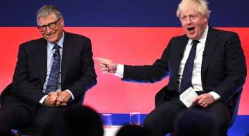UK Prime Minister Boris Johnson wants to power future prosperity on renewable energy and green technology -but faced pushback from campaigners